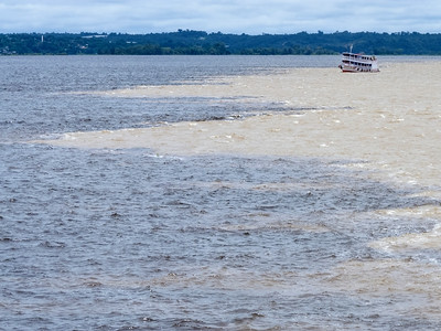 Meeting of the waters, Amazonia, Brazil 24 March 2013