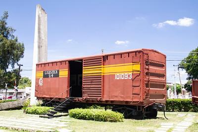 Train, Santa Clara, Cuba 3 April 2009