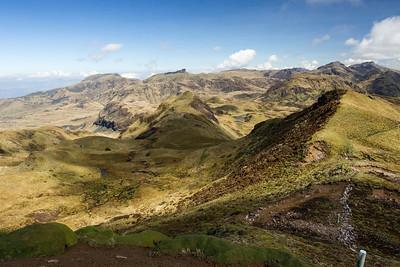 Papallacta pass, Papallacta, Ecuador 6 November 2013
