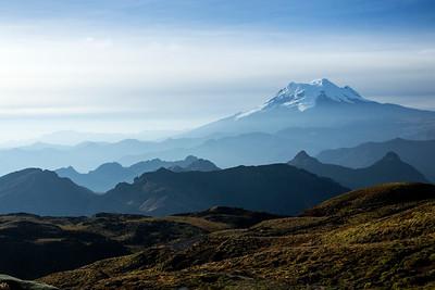 Papallacta pass, Papallacta, Ecuador 7 November 2013