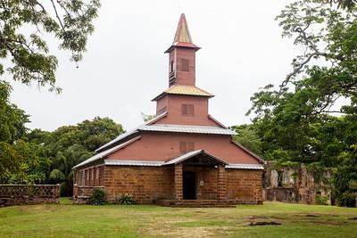 Scenery, Devil's Island, French Guiana 19 March 2013