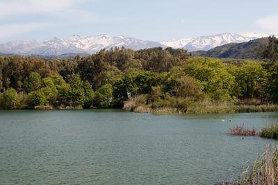 Agia reservoir Crete, Greece 23 April 2015