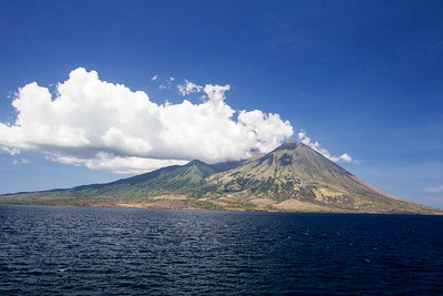 Volcano, Gunung Api, Indonesia 25 November 2011