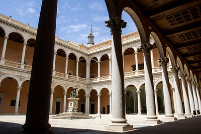 The Alcazar, Toledo, Spain 27 July 2013