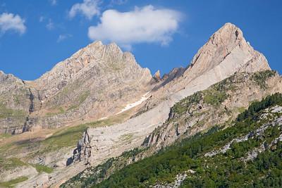 Mountain scenery, Bielsa, Spain 18 August 2014