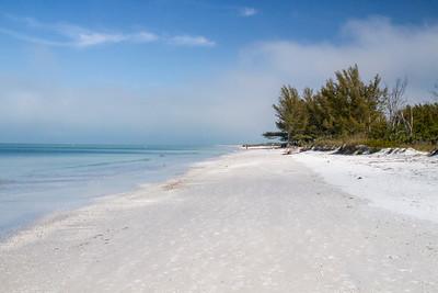 West coast beach, Florida, USA 28 February 2012