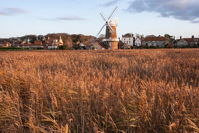 Cley mill, Cley-next-the-Sea, Norfolk, United Kingdom 15 November 2009