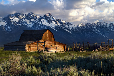 Mormon Row barn, Jackson Wyoming.