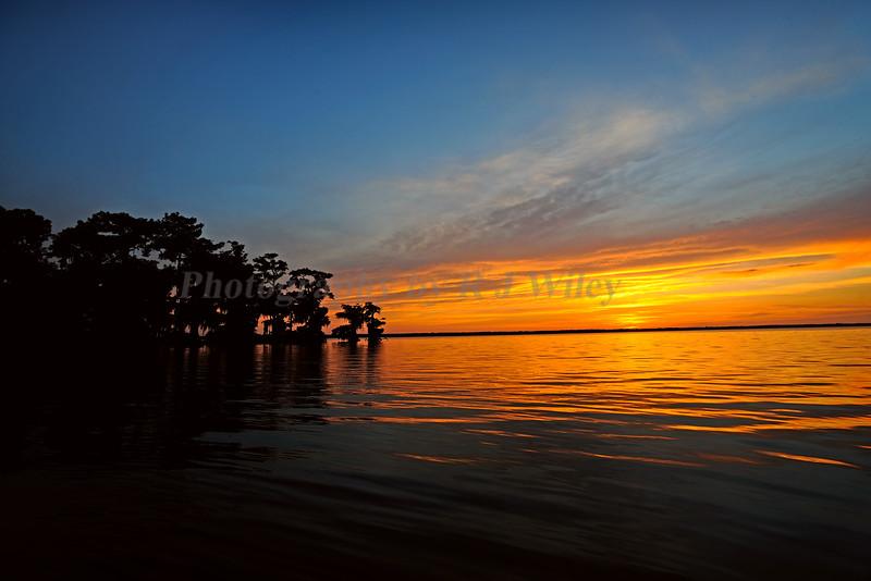 Sunset Lake Istokpoga 1650