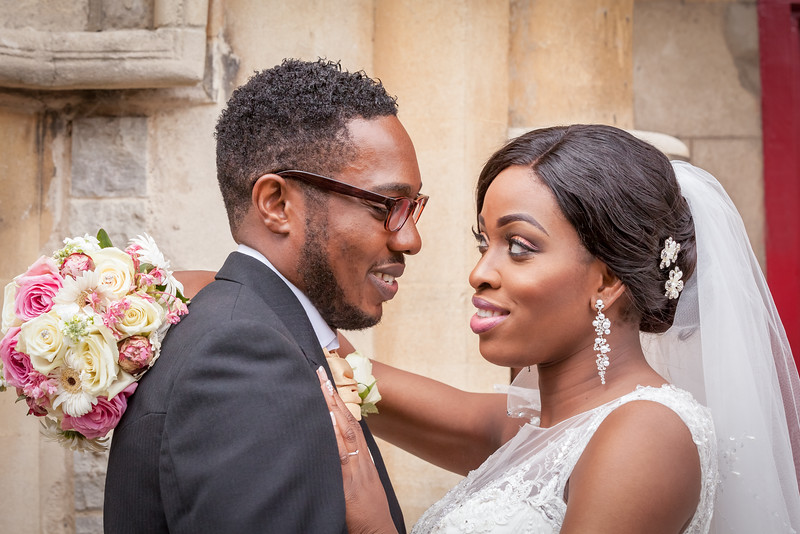 Yvonne & Nnaemeke, St Michaels Church