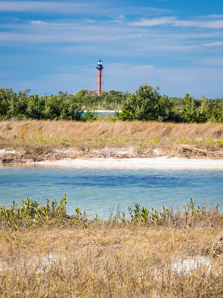 Anclote Key Lighthouse. Tarpon Springs, FL .