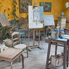 Giverny: Artist Studio Behind Hotel Baudy