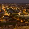 Eiffel Tower Night View: Southwest