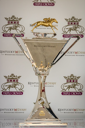 Justify's Triple Crown Trophy, Churchill Downs