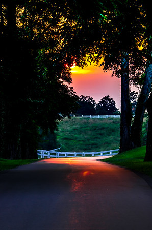 Sunset in the Bluegrass, Lexington, KY