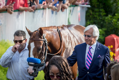 Justify and Bob Baffert, Churchill Downs