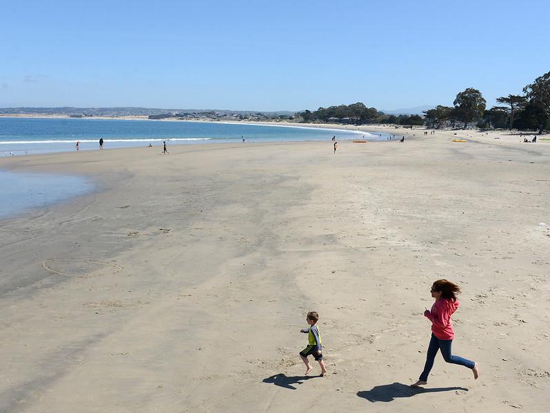warm weather in Monterey