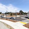 Cars navigate through newly completed roundabout at Del Monte Blvd. and Beach Road on Tuesday, April 25, 2017 in Marina, Calif. (Vernon McKnight/Herald Correspondent)