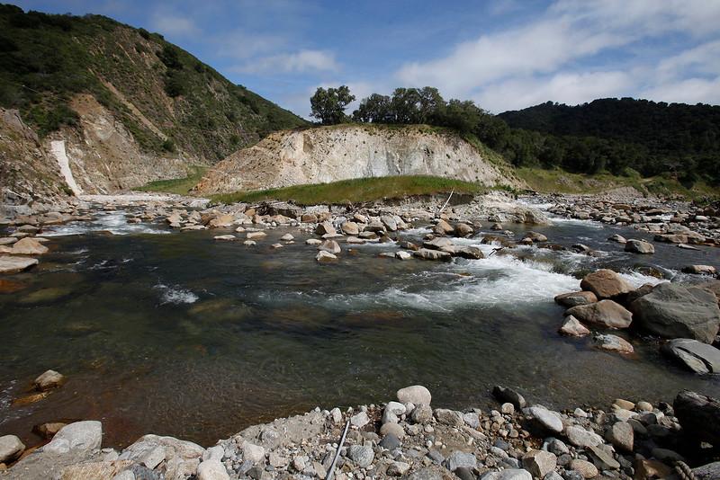 Carmel River, San Clemente Dam site