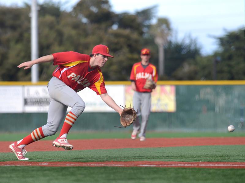 Monterey vs Palma baseball