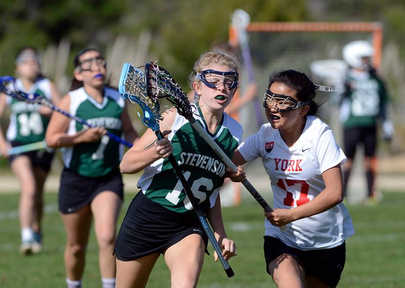 RLS vs. York girl's lacrosse