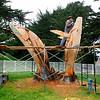 Humpback Whale sculpture