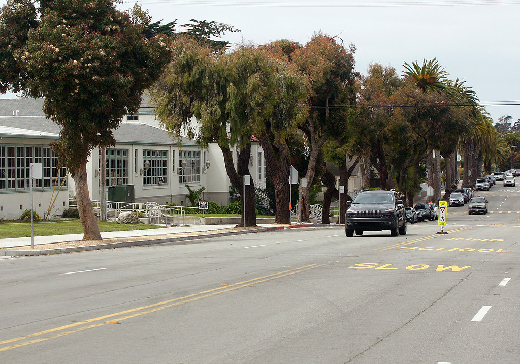 . Pine Avenue in Pacific Grove on Tuesday, August 28,2018.  (Vern Fisher - Monterey Herald)