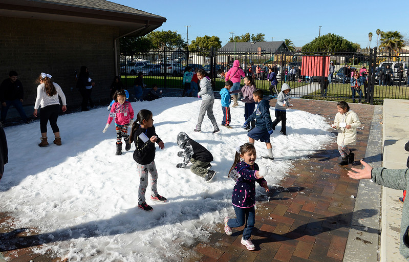 Snow in Salinas