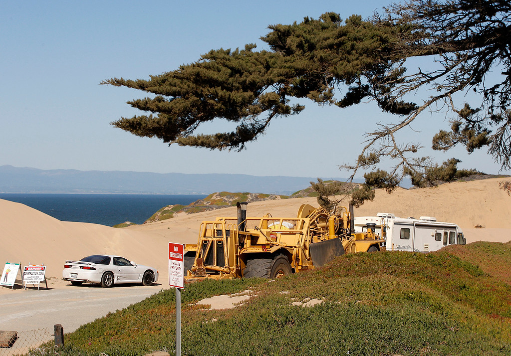 . The Monterey Bay Shores Ecoresort project in Sand City has broken ground on Thursday, Feb. 15, 2018.  (Vern Fisher - Monterey Herald)