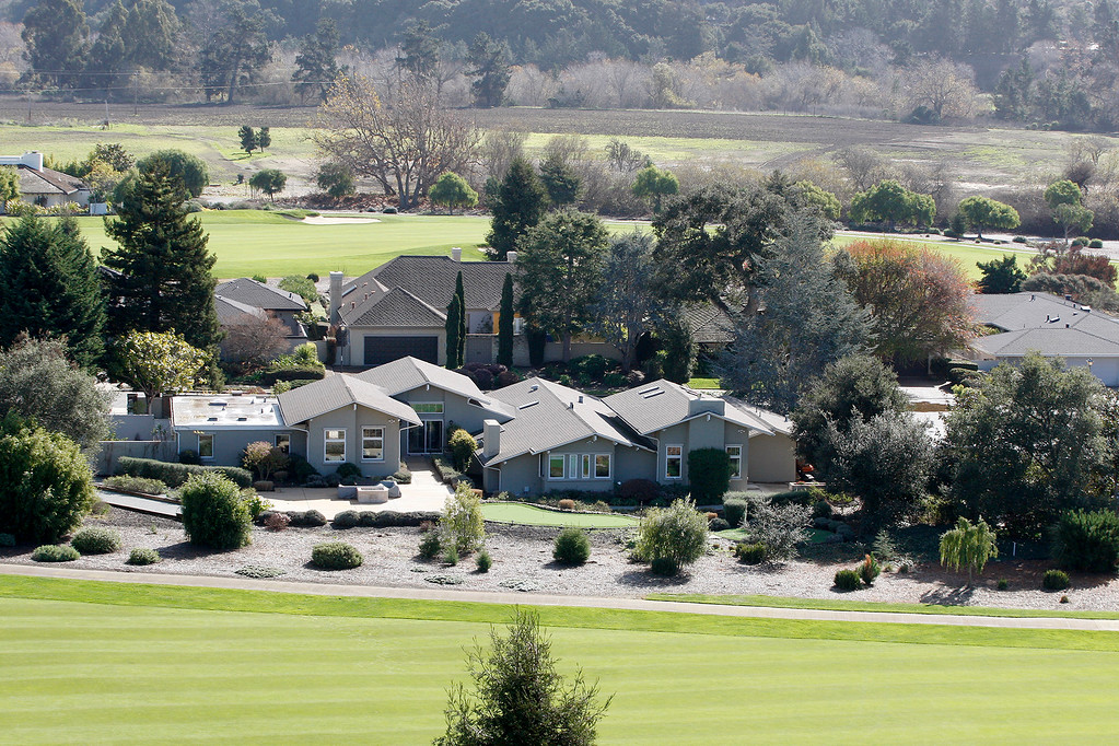 . Houses on the Quail Lodge and Golf Club in Carmel Valley on Friday, Jan. 26, 2018.  (Vern Fisher - Monterey Herald)