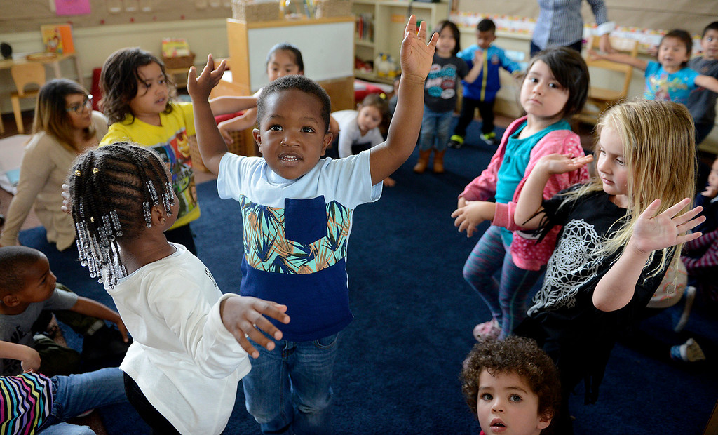 . Earnest Sweeting, 3, a pre-kindergarten student at the Marina Child Development Center in Marina on Monday, July 24, 2017.   (Vern Fisher - Monterey Herald)