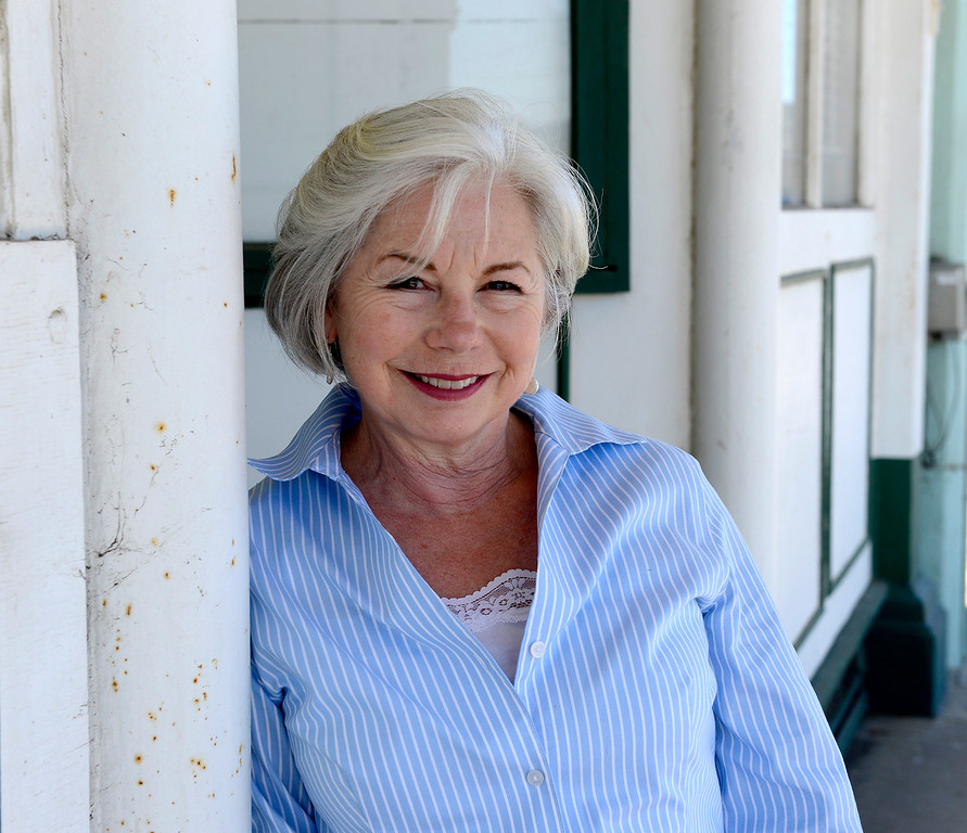 . Longtime county historian Meg Clovis in Spreckels on Wednesday, July 26, 2017.  Clovis retired last May after a 36-year career with the county.  (Vern Fisher - Monterey Herald)