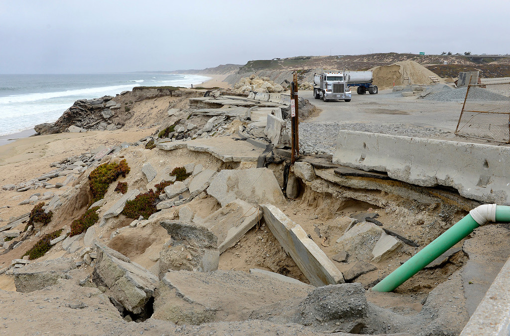 . Looking north from Tioga Ave. in Sand City over the proposed Collections Resorts resort site on Friday, July 28, 2017.  The developer and coastal commission have been working on a viable and acceptable plan for the 26-acre site and may have something to present by next year.  (Vern Fisher - Monterey Herald)