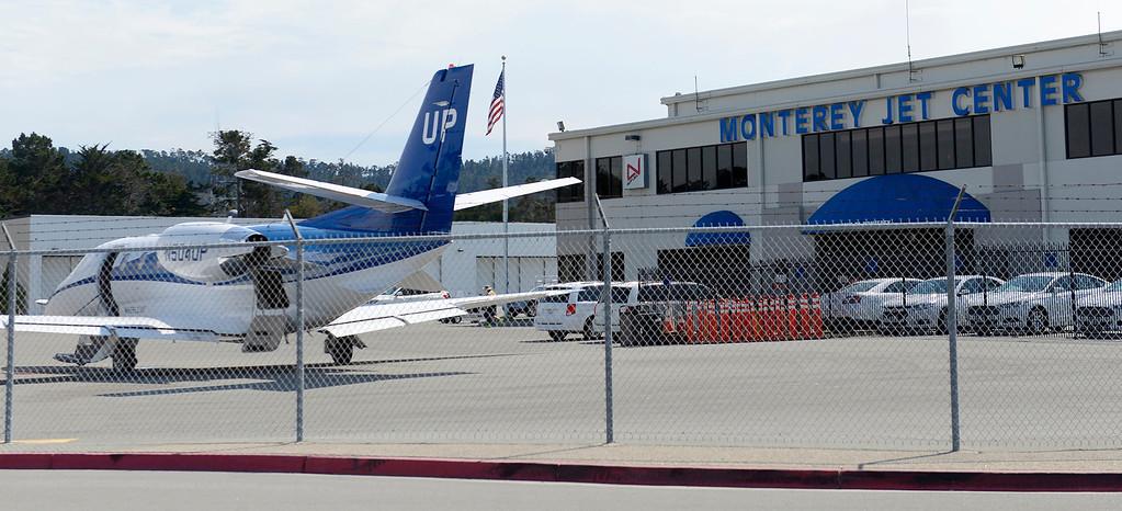 . The Monterey Jet Center on Wednesday, Aug. 2, 2017.  (Vern Fisher - Monterey Herald)