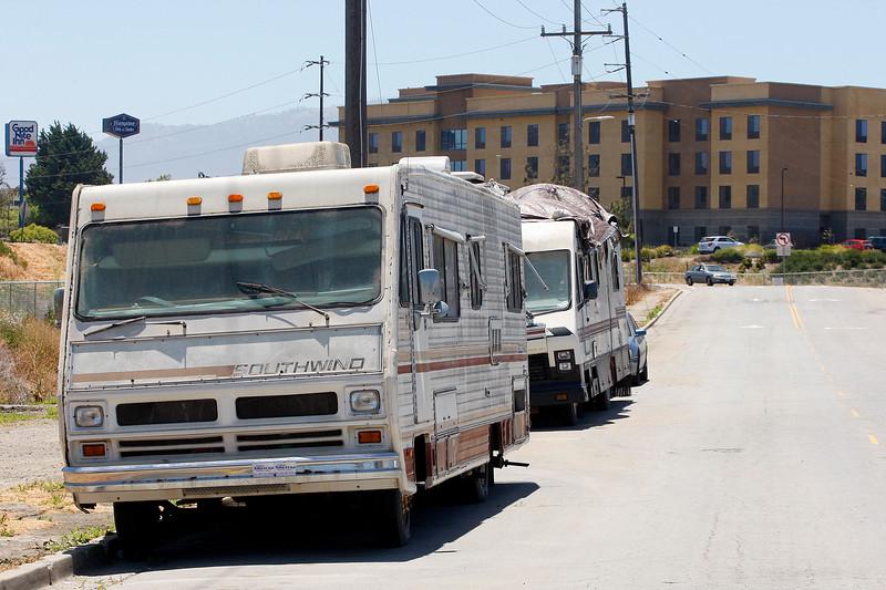 Salinas RV Homeless