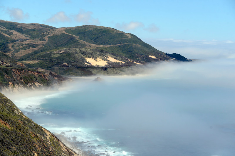 Weather in Big Sur