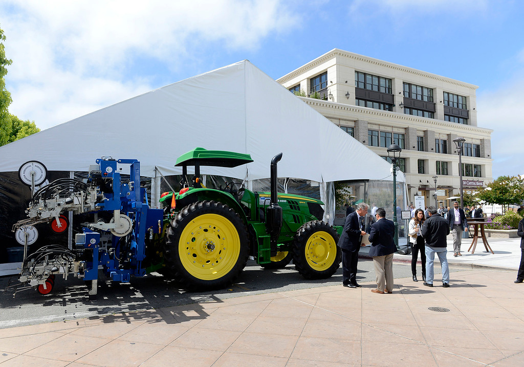 . The Forbes AgTech Summit in Salinas on Thursday, June 29, 2017.  (Vern Fisher - Monterey Herald)