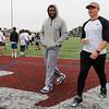 David Fales/ Terry Poole during the Ron Johnson-Anthony Toney Football Camp