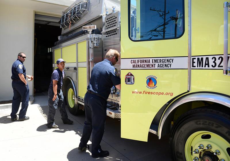 Monterey fire Strike Team