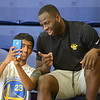 Warriors camp Draymond Green