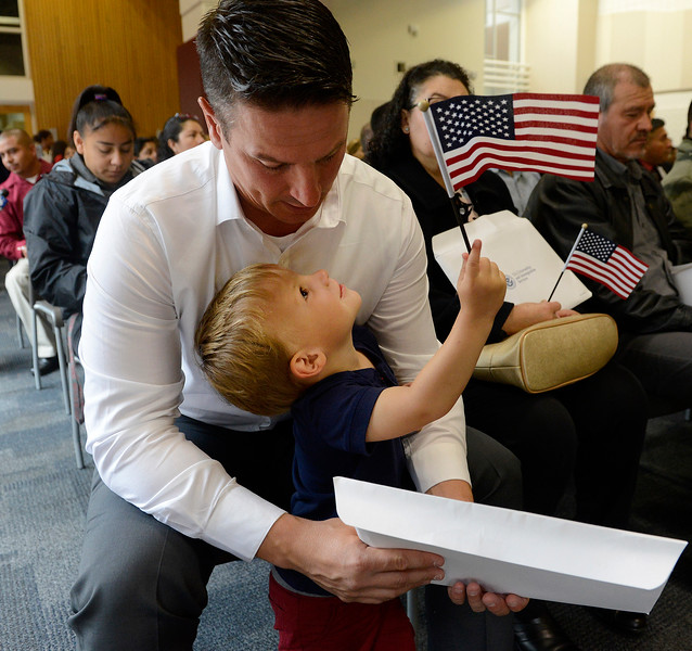 Independence Day Naturalization Ceremony
