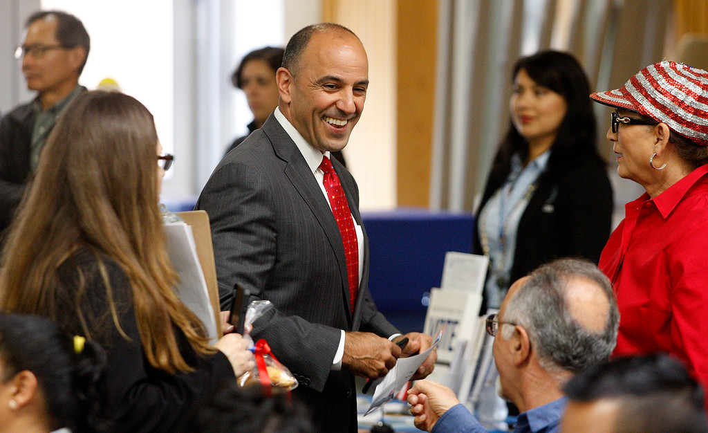 . Congressman Jimmy Panetta was the keynote speaker at the Independence Day Naturalization Ceremony at Hartnell College in Salinas on Tuesday, July 3, 2018.  (Vern Fisher - Monterey Herald)