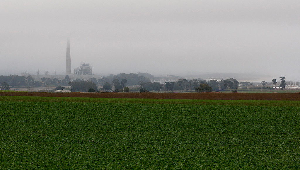 . Looking south on a foggy Moss Landing on Monday, July 2, 2018.  (Vern Fisher - Monterey Herald)