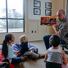 Fata Avegalio of Marina reads during Dads Read