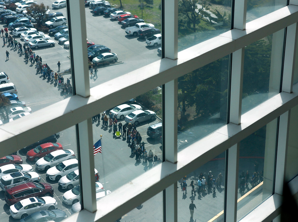 . The line of prospective actors goes around the building and out into the parking lot during open casting for HBO\'s Big Little Lies at Embassy Suites in Seaside on Saturday March 17, 2018. (David Royal/ Herald Correspondent)