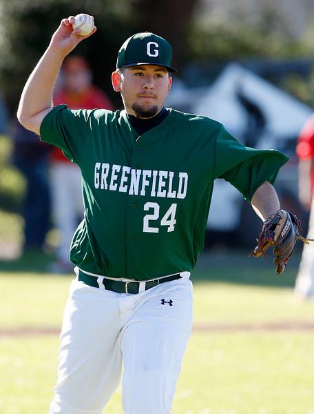 Pacific Grove vs. Greenfield, baseball