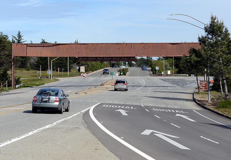Fort Ord entrance sign