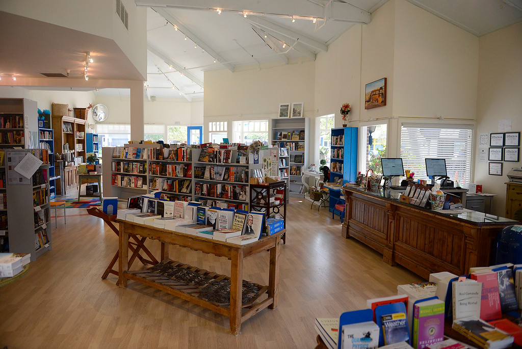 . River House Books in the Crossroads Shopping Center in Carmel on Friday, March 9, 2018.  River House Books is closing its doors April 30th if it\'s not sold by then.  (Vern Fisher - Monterey Herald)