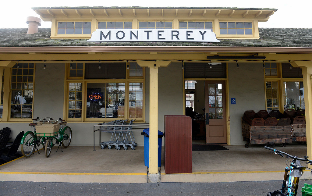 . The Wharf Marketplace in Monterey on Thursday, March 15, 2018.  (Vern Fisher - Monterey Herald)