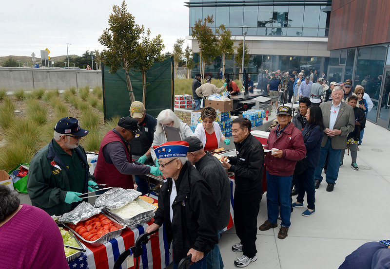 Veterans BBQ in Marina